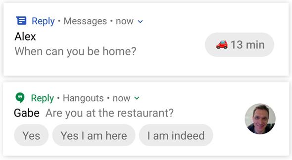 גוגל Reply מענה אוטומטי, צילום: Android Police