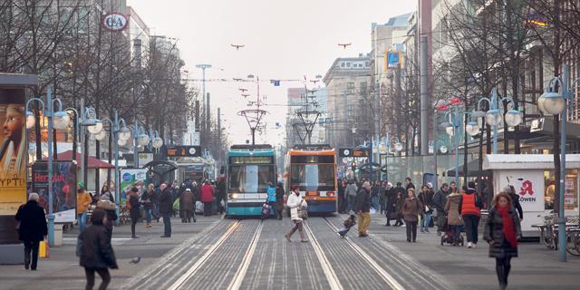 גרמניה תילחם בזיהום עם תחבורה ציבורית בחינם