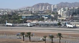 שדה התעופה באילת, צילום: יאיר שגיא