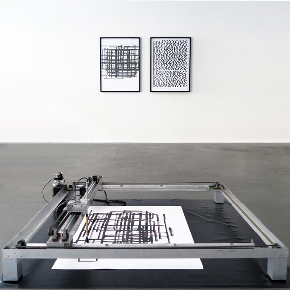 יצירה של ליאת סגל - This Is Not a Typewriter