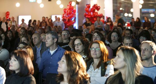 כנס כשטכנולוגיה פוגשת אהבה 14.2.18 גלריה מינגלינג קהל, צילום: עמית שעל