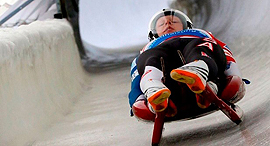 USA Luge 3D-printed sled. Photo: Business Wire