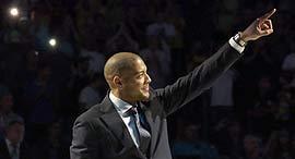אנתוני פארקר לשעבר מכבי תל אביב כדורסל, צילום: עוז מועלם