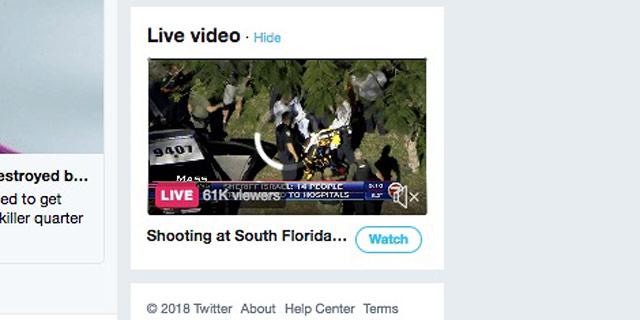 טוויטר מתחילה להציג חדשות מקומיות מתפרצות לצד הפיד