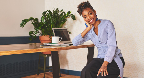Michelle Dalzon, founder of The Black-Owned Market in J.Crew