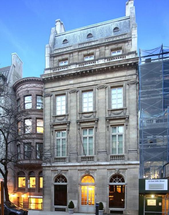 הבית שרכש בלווטניק. היקר ביותר במנהטן