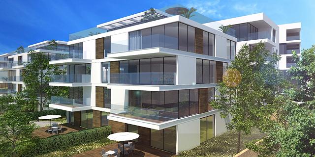 הדמיה פרויקט מגורים ב קיסריה, הדמיה: שוורץ בסנוסוף אדריכלים