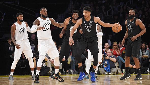 משחק האולסטאר של ה-NBA. פריחה של 22%, צילום: איי אף פי