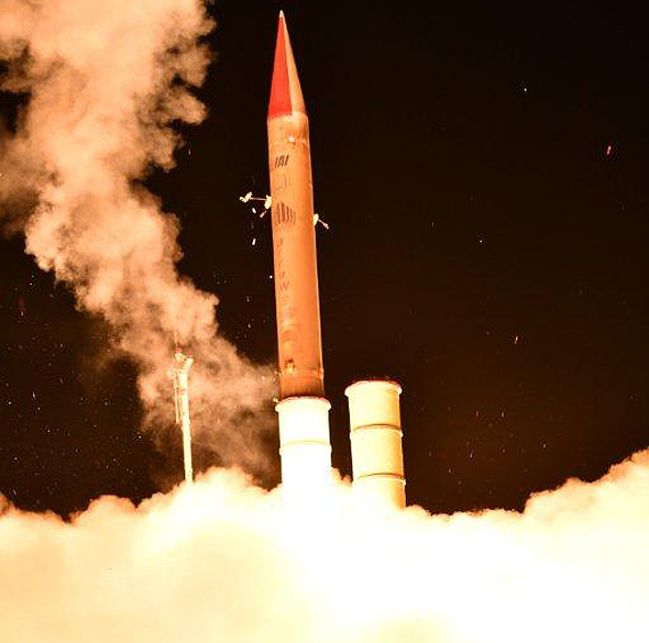 Israel, US Successfully Test Hetz 3 Exoatmospheric Anti-Missile System