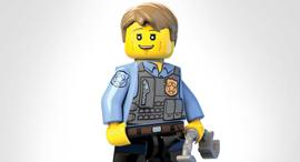 איש לגו, צילום: LEGO