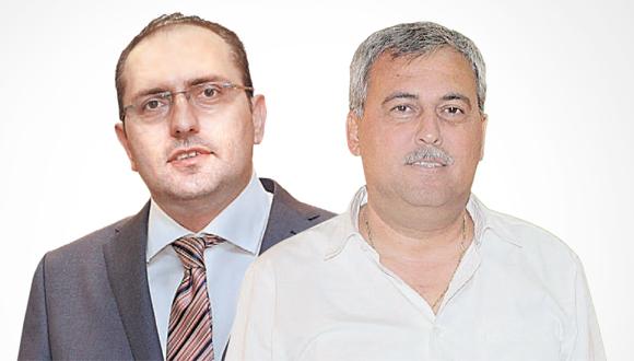 נחום ביתן ומוטי בן משה, צילום: שוקה כהן, אוראל כהן