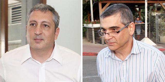 מימין: אלי קמיר וניר חפץ, צילום: אוראל כהן, יריב כץ