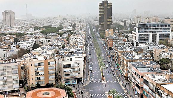 רחוב אבן גבירול בתל אביב, צילום: עמית שעל