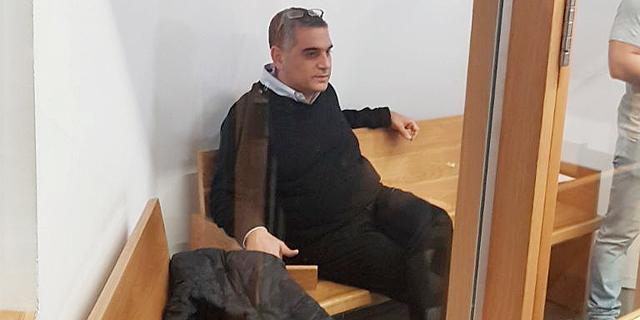 אלי קמיר בבית המשפט , צילום: תומר גנון
