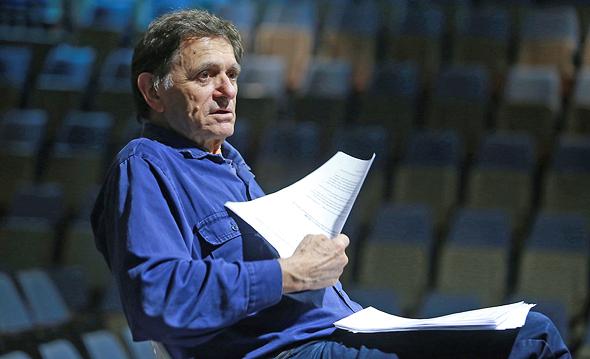 הבמאי דני הורוביץ בחזרות לאירוע המחווה, צילום: אוראל כהן