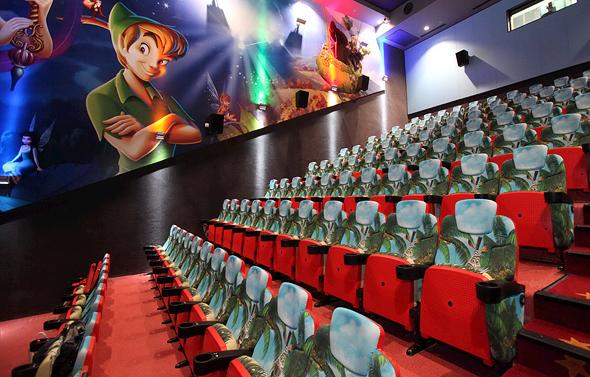 """אולם קולנוע בסינמה סיטי ראשל""""צ"""