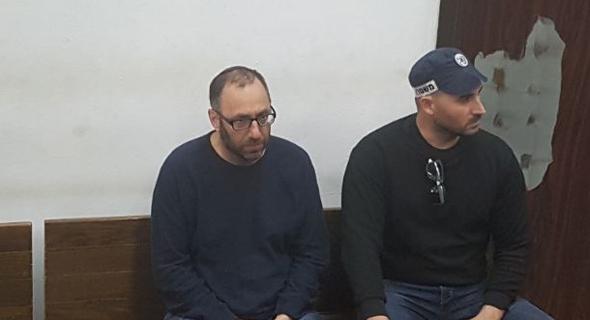 עמיקם שורר בזק הארכת מעצר, צילום: תומר גנון