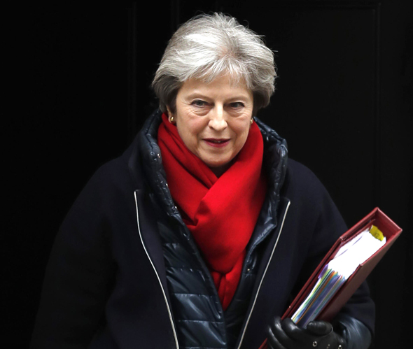 תרזה מיי, ראש ממשלת בריטניה