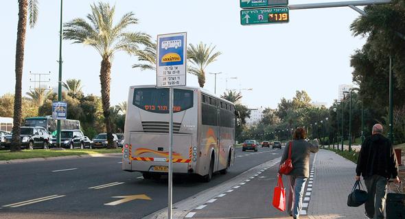 אוטובוס, צילום: שאול גולן