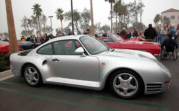 ביל גייטס מכונית פורשה 959 , צילום: autowpaper