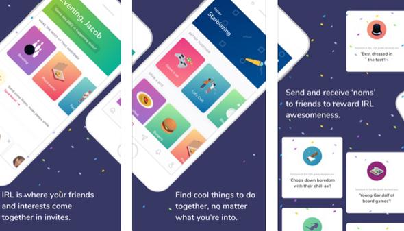 אפליקציית IRL, צילום: app store