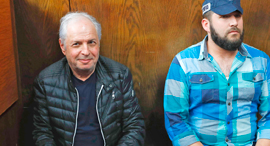 שאול אלוביץ', בעת הארכת מעצרו אתמול, צילום: איי אף פי