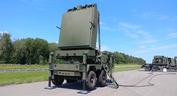 Le radar Iron Dome