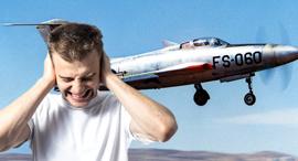 הקברניט מטוס קרב רעש, צילום: ויקי, שאטרסטוק