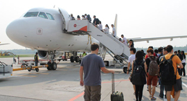 נמל תעופה טיסה מטוס הקברניט, צילום: ftnnews
