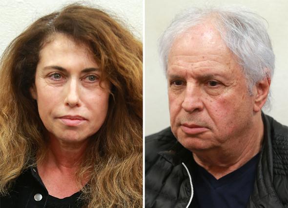 שאול אלוביץ' ו סטלה הנדלר הארכת מעצר, צילומים: אוראל כהן