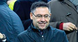ג'וזפ ברתמאו נשיא מועדון ברצלונה כדורגל, צילום: איי אף פי