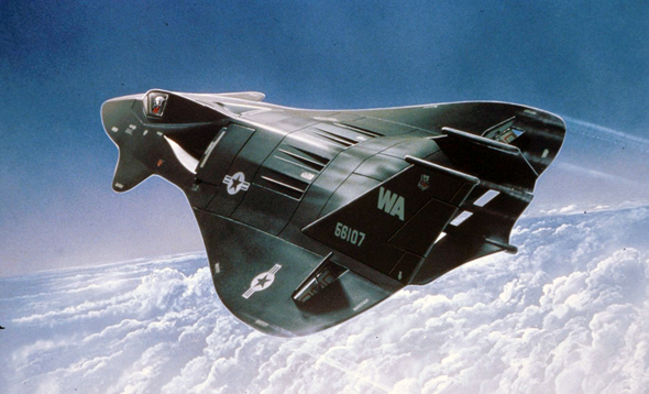 אחד משני עיצובי הקונספט של ה-F19