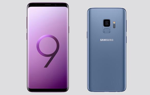 מימין: גלקסי S9, גלקסי S9 פלוס