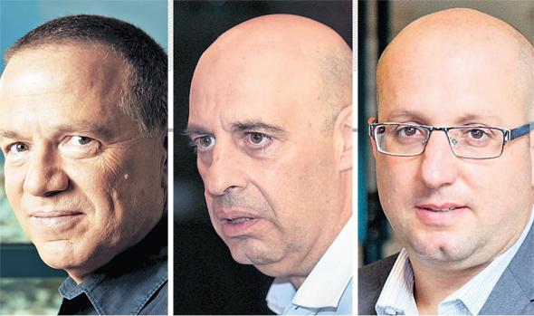 מימין תמיר כהן דורון תורג'מן שלמה רודב