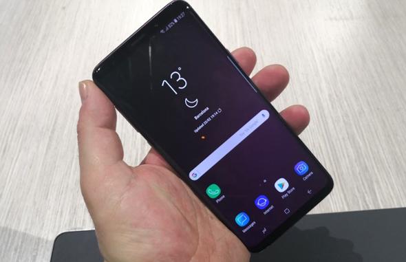 סמסונג גלקסי S9 הצצה ראשונה 3, צילום: רפאל קאהאן