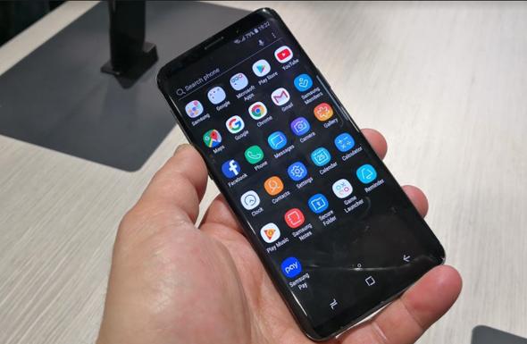סמסונג גלקסי S9 הצצה ראשונה 4, צילום: רפאל קאהאן