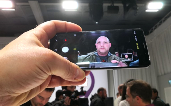 סמסונג גלקסי S9 הצצה ראשונה 12, צילום: רפאל קאהאן