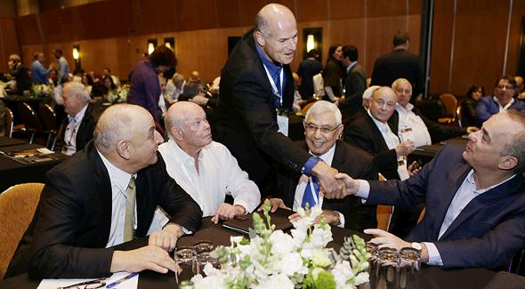 אוהד מראני יוסי רוזן יובל שטייניץ גבי לסט יצחק תשובה ועידת אנרגיה 2018, צילום: עמית שעל