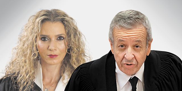 אליעזר ריבלין, רונית פוזננסקי כץ, צילום: אתר בתי המשפט, אלכס קולומויסקי