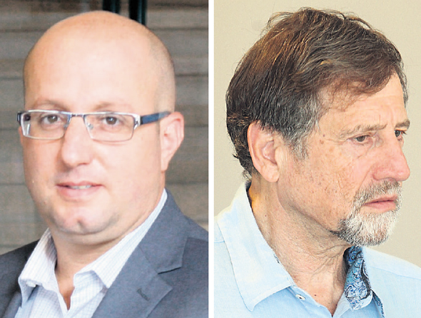 מימין: נתי סיידוף ותמיר כהן