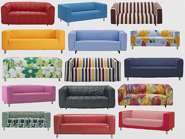 איקאה ספה זוגית קליפאן Klippan 1, צילום: Ikea