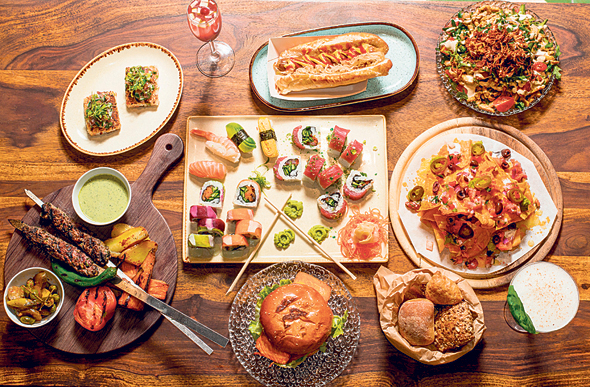 An illustrative lunch spread. Photo: Yuval Chen