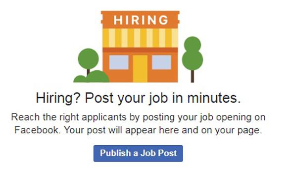 פייסבוק Jobs חיפוש עבודה , צילום: facebook