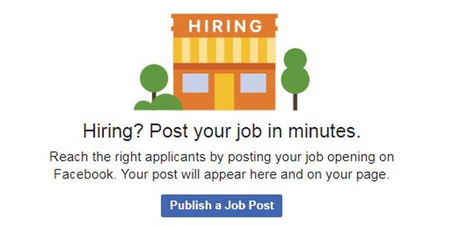 מחפשים עבודה? פייסבוק השיקה את לוח הדרושים שלה בישראל