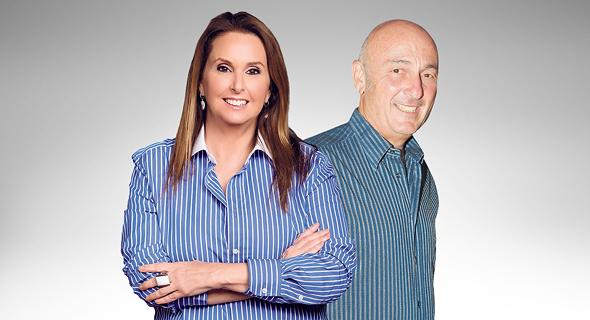 מימין יעקב לוקסנבורג ו שרי אריסון, צילום: אוראל כהן