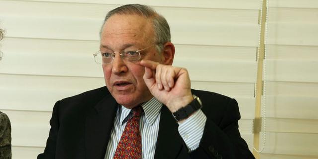 """נשיא הבינתחומי אוריאל רייכמן. לא ויתר על תפקיד ראש חבר הנאמנים לאחר פרישתו, בניגוד לדרישת המל""""ג, צילום: עמית שעל"""