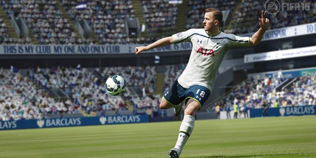 """הארי קיין  בפיפ""""א של EA. הכדורגלנים שמשחקים משחקי מחשב מבינים את האסטרטגיה מאחורי המהלכים, צילום: צילום מסך"""
