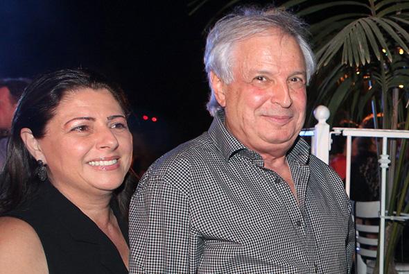 שאול ו איריס אלוביץ', צילום: אוראל כהן