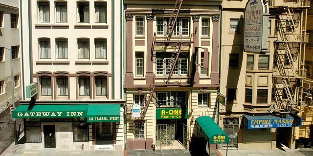 בניין מגורים בסן פרנסיסקו. 650 דולר לשבוע - השכירות הממוצעת היקרה בעולם, צילום: בלומברג