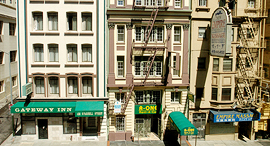 בנייני מגורים ב סן פרנסיסקו, צילום: בלומברג